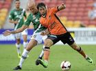 BRISBANE Roar has failed to stretch its lead at the top of the A-League ladder following a shock 1-0 defeat at the hands of bogey side Newcastle Jets.