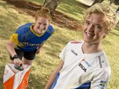 SWEDISH pair Ludvig Ahlund and Annika Carlberg are two of the world's leading junior orienteers and are currently in Australia spreading their sport's word.