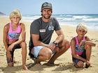 FORMER Sunshine Coast champion ironman Zane Holmes will have his eyes firmly set on nephews Taj and Zeb Stokes at Noosa today.