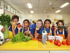 EATING healthy food comes easy for the students at Carole Park State School.