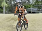 CONFIDENT on a bike – owning two in fact – Blake Sharp had never found himself on a BMX track before, and the quietly spoken youngster loved his first time.