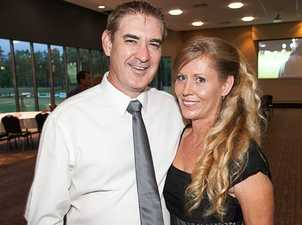Aaron and Danni Stevens at the Ipswich Jets 2014 Season Launch held at the North Ipswich Reserve on Friday night. Photo: Nick O'Sullivan / The Queensland Times