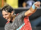 WORLD No.1 Rafael Nadal has celebrated his return from injury in style, beating Ukrainian Alexandr Dolgopolov.