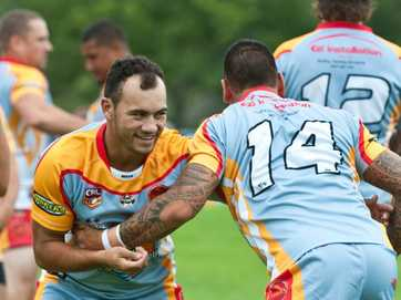 Coffs Harbour Comets vs Macksville Sea Eagles, Rugby League Sevens at Geof King Motors Park: