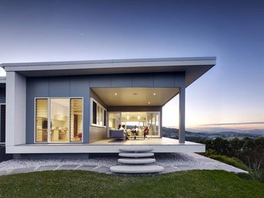 VIEWS FOREVER: The Coorabell house featured in Grand Design magazine. Photo Contributed