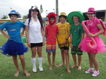 Xavier Catholic College's annual swimming carnival.