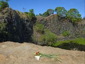 WORK on a fence blocking entry to the Island Quarry, where Victorian man Brendan Vickery died at the weekend, had been scheduled to start next week.