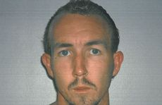 A 2003 police photo of Douglas Brian Jackway, as tendered to the Supreme Court during the trial of Brett Peter Cowan, who is accused of murdering Daniel Morcombe.