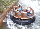 Alex Leapai faces biggest fear at amusement park