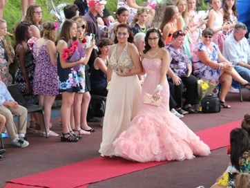 Year 12 students from Rockhampton Girls Grammar School and their partners stepped out in style at their senior formal.