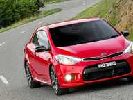 KIA has added some bite to the buzz of its new-generation Cerato Koup with the addition of a turbocharged model.