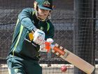 FINED for making ball-tampering allegations against South African keeper AB de Villiers, pugnacious Australian batsman David Warner responded with a century.