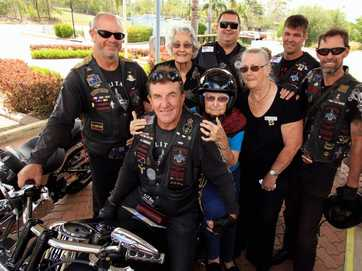 The Military Brotherhood MMC bikers took some RSL Care Baycrest residents for a spin on their motorbikes.