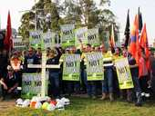 THIRTY-THREE workers at Swanbank E Power Station will be forced to take redundancies because no other suitable work is being made available.