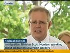 IMMIGRATION Minister Scott Morrison has mistakenly referred to Australia's asylum seeker policy as 'Operation Sovereign Murders'.