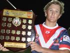 A LATE try by Morgan Taylor clinched the first Xylon Smith Memorial Shield rugby league game for the Warwick Cowboys at Father Ranger Oval on Saturday night.