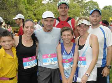 Hundreds took part in the annual Peak to Park run.