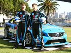 Volvo Polestar Racing S60 V8 Supercar drivers Scott McLaughlin and Robert Dahlgren.