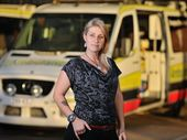 WATCHING a paramedic save the life of her dying sister by the side of the road has inspired a woman to overcome her fears and become a paramedic herself.