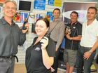 MOTOROLA Solutions' Australian manager was in town last week to give Gladstone's Motorola dealer a big pat on the back after continued growth and success.