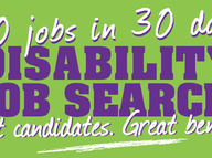 The Disability Jobs Drive has been established with one simple objective: to find jobs for people with disabilities in our area, the target: 50 jobs in 30 days