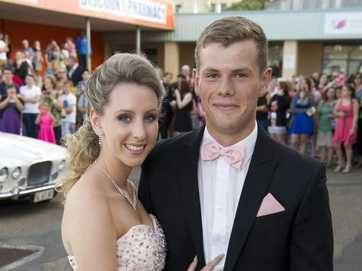 St Joseph's College seniors step out in style for their inauguration ball.