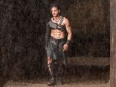 FOR REVIEW AND PREVIEW PURPOSES ONLY. Kit Harington in a scene from the movie Pompeii. Supplied by Image.net. Please credit photo to George Kraychyk.