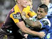 ENGLISH international centre Jack Reed is drooling at the prospect of Brisbane's new money man, Ben Barba, looming up on his shoulder this season.