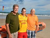 CALOUNDRA lifesaver Colton Pleass never expected to rescue his mother, father and grandfather all in one sweep.