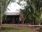 SUNSHINE Coast police are investigating the cause of a fire that destroyed a home at Bli Bli on Tuesday night.