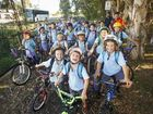 IT IS not bright yellow, nor driven by Ms Frizzle, but Yamba Public School's Bike Bus is a little piece of magic in its own right.