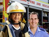 ASPIRING firemen, soldiers, ballerinas and astronauts were given a taste of life on the job as Good Shepherd Primary School students celebrated I Want 2 Be Day.