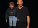 Ventriloquist David Strassman in show