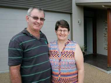 Kevin and Joanne Shearer. Photo: Chris Ison / The Morning Bulletin