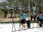 THE NewsMail brings you a sneak peak peek of the $120,000 fitness park constructed in Schuhkraft Park, Bargara and due to have a grand unveiling today.
