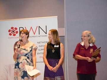 The International Women's Day breakfast at Coffs Harbour's Opal Cove Resort. Photos: Trevor Veale / Coffs Coast Advocate