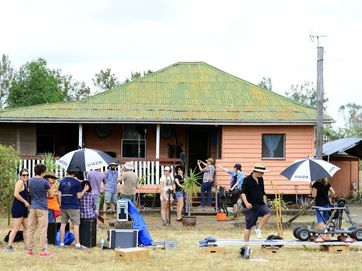 A local Calvert property at Rosewood became the production set for the filming of the movie 'Keys'.