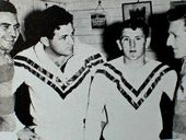 VERSATILE: Paul 'Pope' Pyers (second from left) is described as the complete footballer – a mix of Kerry Boustead, Brett Kenny and Steve Mortimer. PHOTO: Contributed
