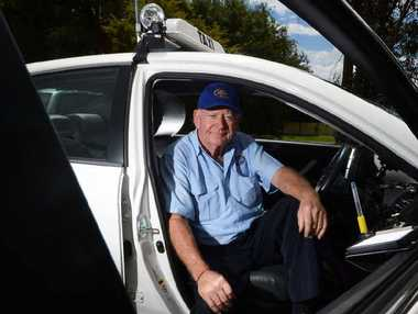 STOP THE VIOLENCE: Lismore taxi driver and North Coast Taxi Council vice-president Doug Lawrence is sick of alcohol-fuelled assaults.