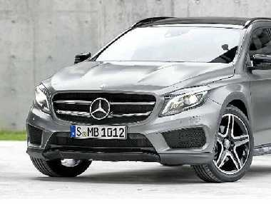 SOUGHT-AFTER: The new Mercedes-Benz GLA will arrive here from April...and there is already a queue.