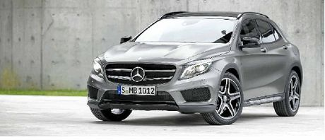 SOUGHT-AFTER: The new Mercedes-Benz GLA will arrive here from April