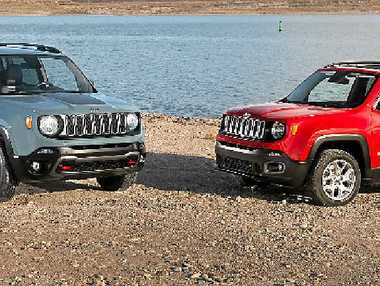 The new Jeep Renegade.