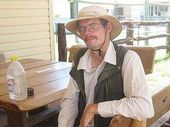 A GERMAN tourist missing for almost three weeks in the Queensland outback has survived the ordeal by eating flies.