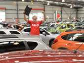 John Nash is ready and waiting to find a great car for you at the huge car sale. Photo Peter Holt / Daily Mercury