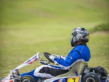 The Norton Rogers Memorial Grand Prix meet held at the Gladstone Kart Club on March 8, 2014.