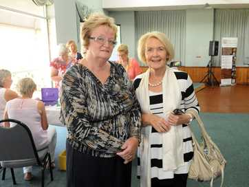 The International Women's Day breakfast held at Frangipanis Function Centre.