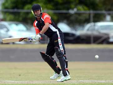 Images from the match between the ACA All Stars and the Casino District Cricket Association at Queen Elizabeth Park.