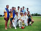 THE only downpour on Salter Oval at the weekend was a flood of emotion when ATW defeated Brothers by 63 runs to win the 2013-2014 Division 1 cricket final.