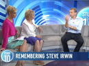 Justin Lyons describes Steve Irwin's last moments