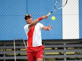 Rockhampton's Kennedy Tjandramulia playing at CQ Junior Masters Championships. Photo Allan Reinikka / Morning Bulletin